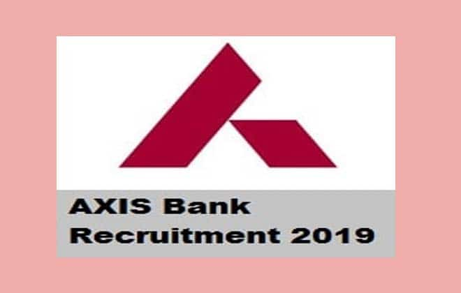 Axis Bank Relationship Manager Recruitment