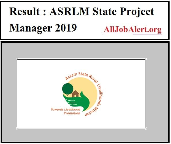 ASRLM State Project Manager 2019 result